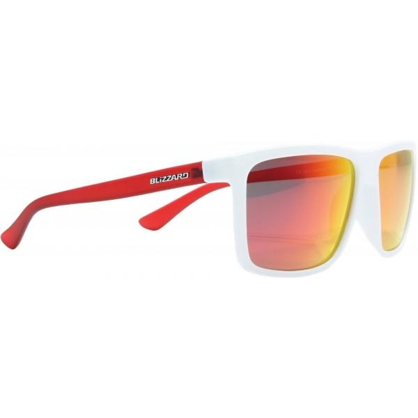 Blizzard RUBBER POLARIZED bílá  - Sluneční brýle