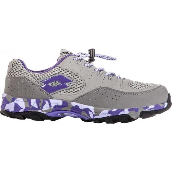 Lotto CROSSRIDE 600 II JR béžová 35 - Dětská sportovní obuv