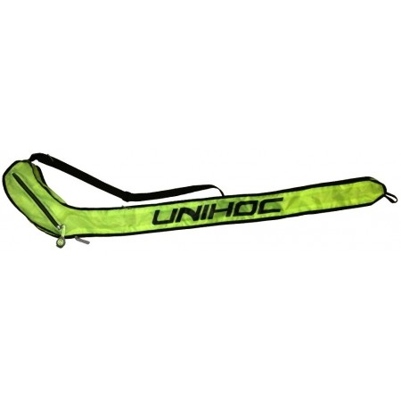 Vak na hokejky - Unihoc SINGLE COVER LIME LINE 92-104CM