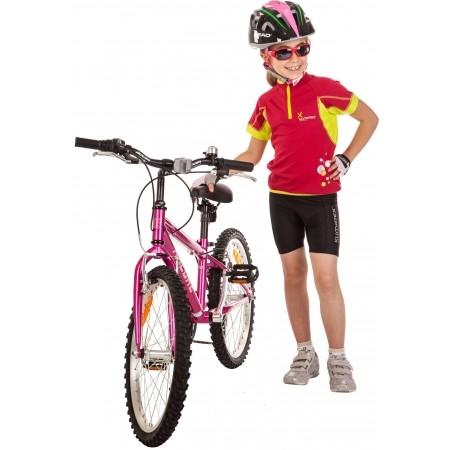 HOBIT - Pantaloni de ciclism scurți pentru copii - Klimatex HOBIT - 4