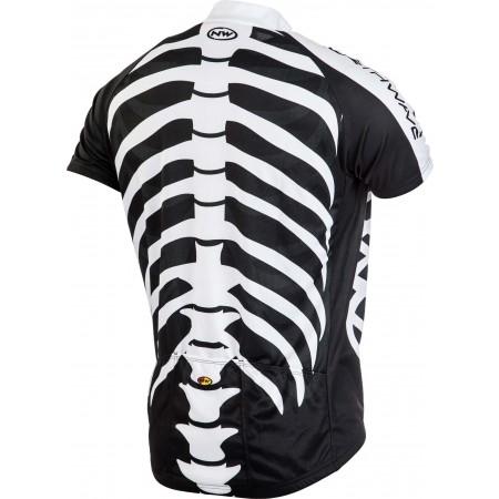 Мъжка тениска с къс ръкав - Northwave SKELETON - 3