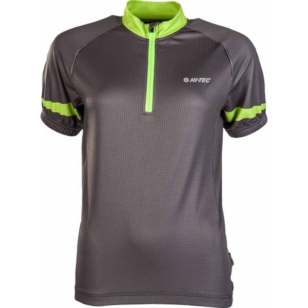 Hi-Tec GAUTE W zelená L - Dámský cyklistický dres