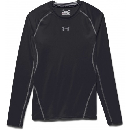 Férfi kompressziós póló - Under Armour HEAT ARM COMPR LONG - 3