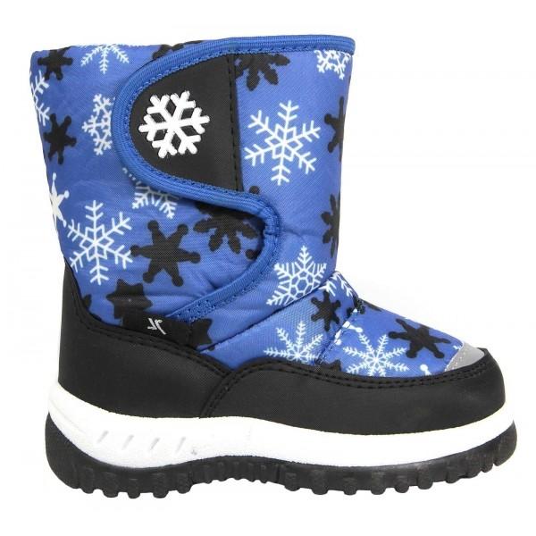 Junior League SANNA modrá 31 - Dětská zimní obuv