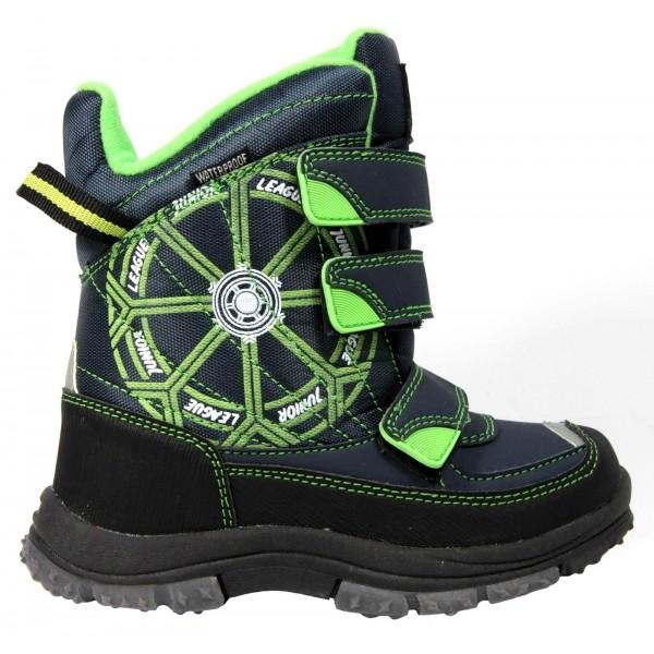 Junior League RUNAR modrá 32 - Dětská zimní obuv