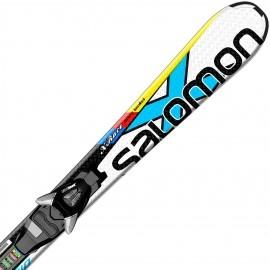 Salomon E X-Race Jr S + EZY5 - Junior Alpine Ski