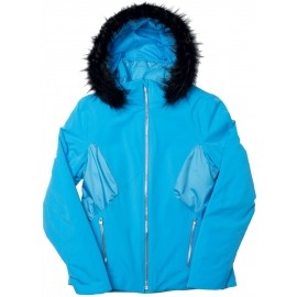 Spyder WOMEN´S GEM FAUX FUR JACKET - Women's Ski Jackets