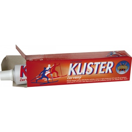 KLISTER RED - Klister on cross-country skis - Skivo KLISTER RED
