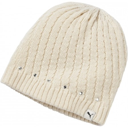 WOMEN BLING BEANIE - Дамска зимна шапка - Puma WOMEN BLING BEANIE - 1
