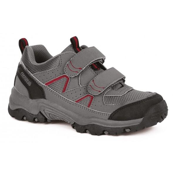 Crossroad DADA II červená 31 - Detská treková obuv