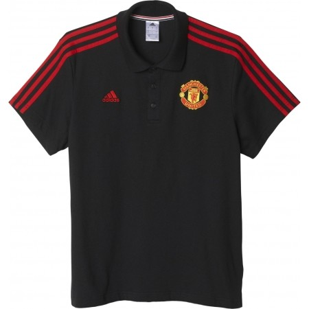 Мъжка блуза - adidas MUFC 3S POLO - 1