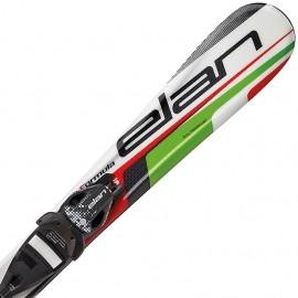 Elan FORMULA GREEN 100-120 + EL 4.5 VRT - Skiuri de coborâre copii