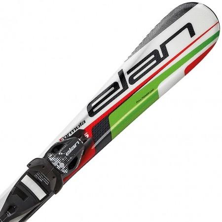 Dětské sjezdové lyže - Elan FORMULA GREEN 100-130 + EL 4.5 VRT - 1