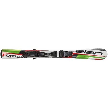 Dětské sjezdové lyže - Elan FORMULA GREEN 130 + EL 4.5 VRT - 2
