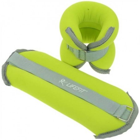 ANKLE-WRIST WEIGHTS 2X1KG - Неопренова тежест - Lifefit ANKLE-WRIST WEIGHTS 2X1KG