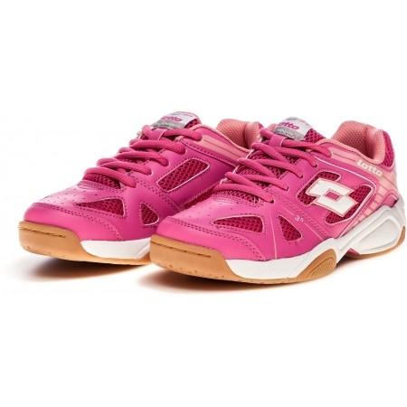 Детски обувки за спорт в зала - Lotto JUMPER V JR L - 6