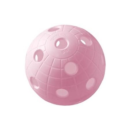 Unihoc BALL CRATER RASPBERRY - Florbalový míček