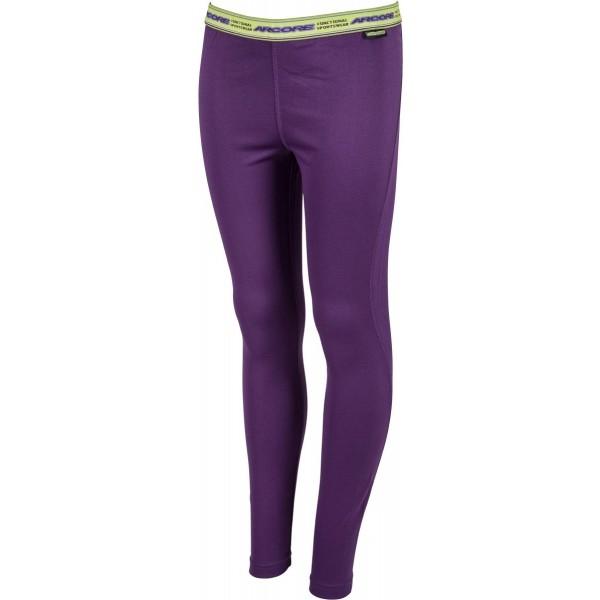 Arcore ALEXA fialová L - Dámské funkční kalhoty