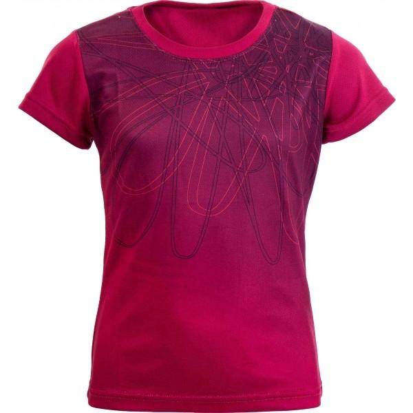 Arcore LAILA 116-134 rózsaszín 128-134 - Lány funkcionális póló