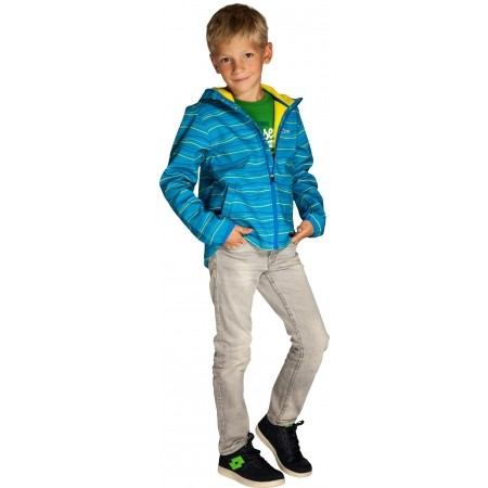 Dětská softshellová bunda - Alpine Pro ZUZI - 3