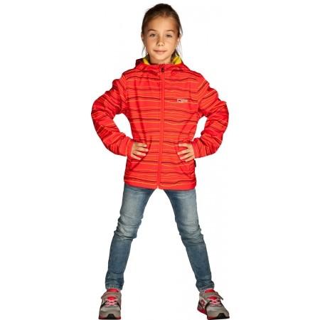 Dětská softshellová bunda - Alpine Pro ZUZI - 5