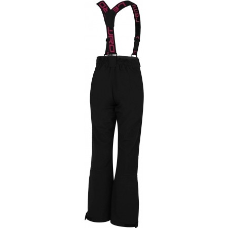 Dívčí lyžařské softshellové kalhoty - Lewro DEX 116-134 - 2