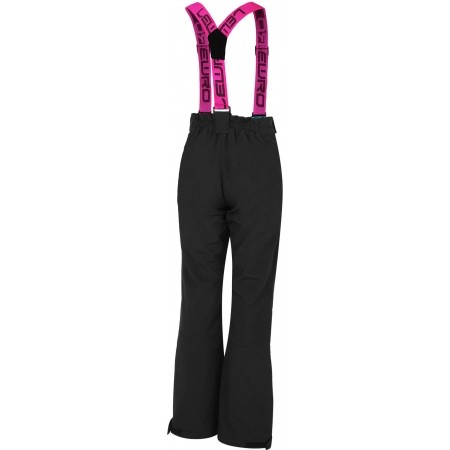 Dívčí lyžařské softshellové kalhoty - Lewro DEX 116-134 - 4