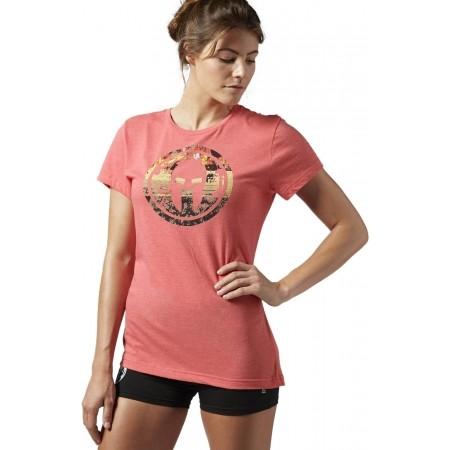 12b6cb4b6614b1 Women s T-shirt - Reebok SPARTAN RACE TRI-BLEND SS TEE 2 - 2