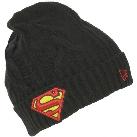 HERO CUFF SUPERMAN - Стилна зимна шапка - New Era HERO CUFF SUPERMAN