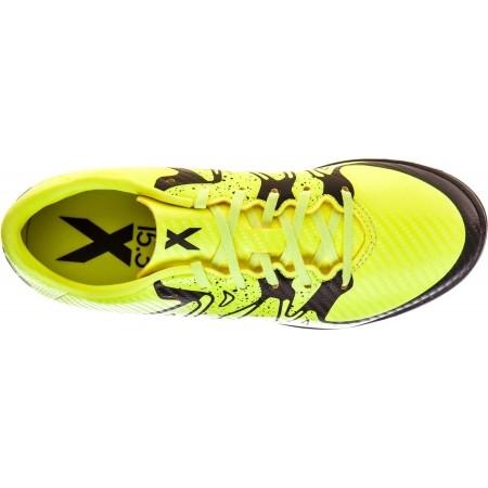 Детски футболни обувки - adidas X 15.3 TF J - 5
