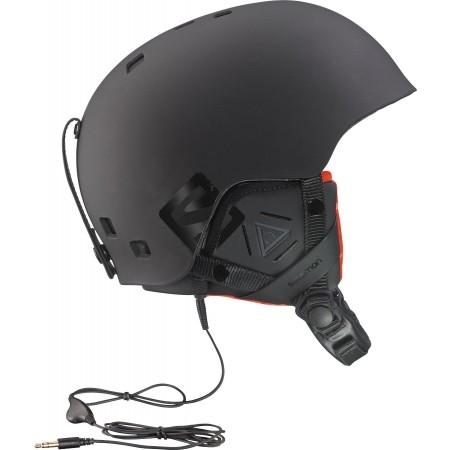 Lyžařská helma - Salomon BRIGADE AUDIO 7decec1d407