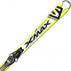 Salomon E X-MAX JR M + E EZY7 B80 - Juniorské zjazdové lyže