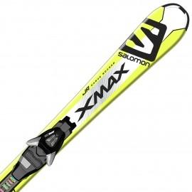 Salomon E X-MAX JR S + E EZY5 B80 - Juniorské sjezdové lyže