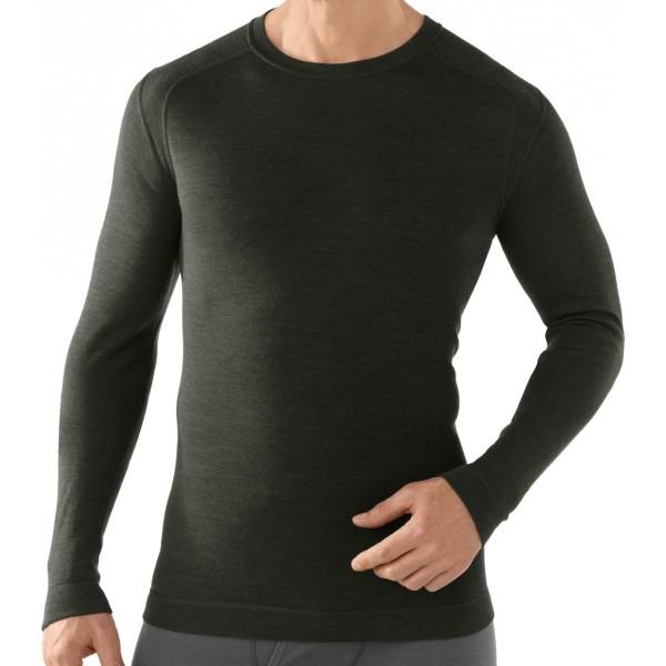 Smartwool M NTS MID 250 CREW čierna L - Pánske funkčné tričko