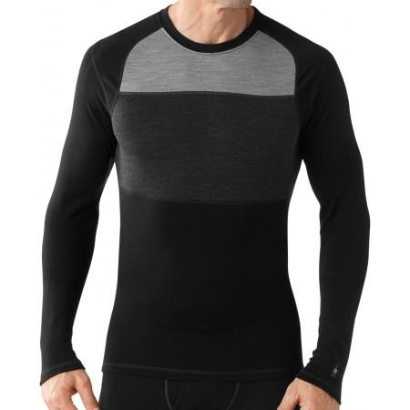 Функционална мъжка блуза - Smartwool M NTS MID 250 COLOR BLOCK CREW