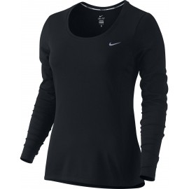 Nike DRI-FIT CONTOUR LS - Women's Running Long-Sleeve Shirt