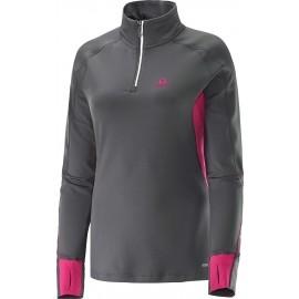 Salomon TRAIL RUNNER WARM ZIP W - Women's running sweatshirt