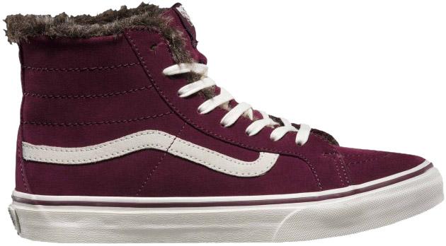244c5058c9a Vans SK8-HI SLIM. Dámská zimní obuv. Dámská zimní obuv