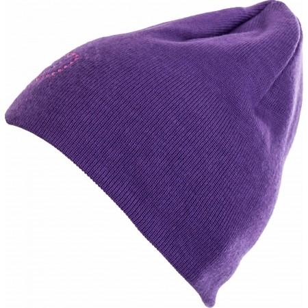 Dievčenská pletená čiapka - Lewro VIOLET - 1