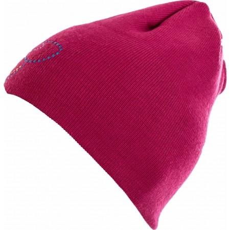 Girls' knitted hat - Lewro VIOLET - 1