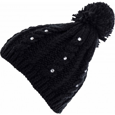 Плетена шапка за момичета - Lewro RITA - 1