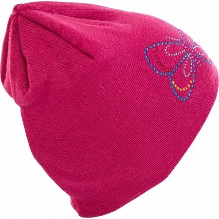 Girls' knitted hat - Lewro VIOLET - 2