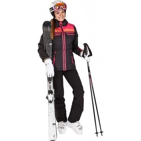 Dámské sjezdové lyže - Elan SNOW BLACK QT + EL7,5 - 4
