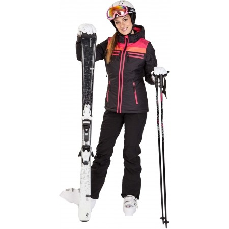 Dámské sjezdové lyže - Elan SNOW BLACK QT + EL7,5 - 5