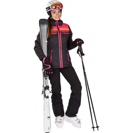 Dámské sjezdové lyže - Elan SNOW BLACK QT + EL7,5 - 8