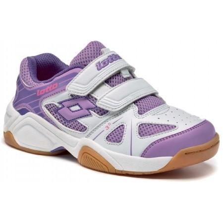 Детски обувки за спорт в зала - Lotto JUMPER V CL S - 1
