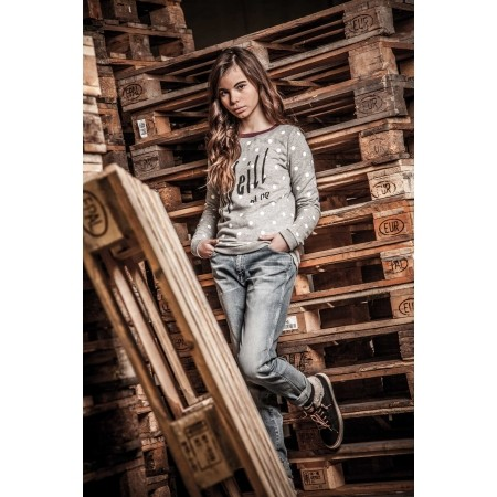 Дамски дънков панталон - Wrangler BOYFRIEND ORIGINAL WORN - 8