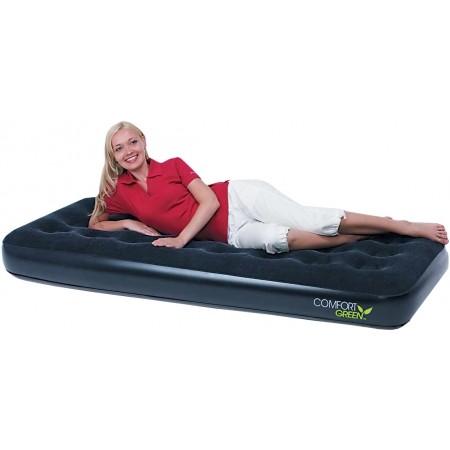 Nafukovacia posteľ - jednolôžko - Bestway 73x30x8.5 Comfort Green Flocked Air