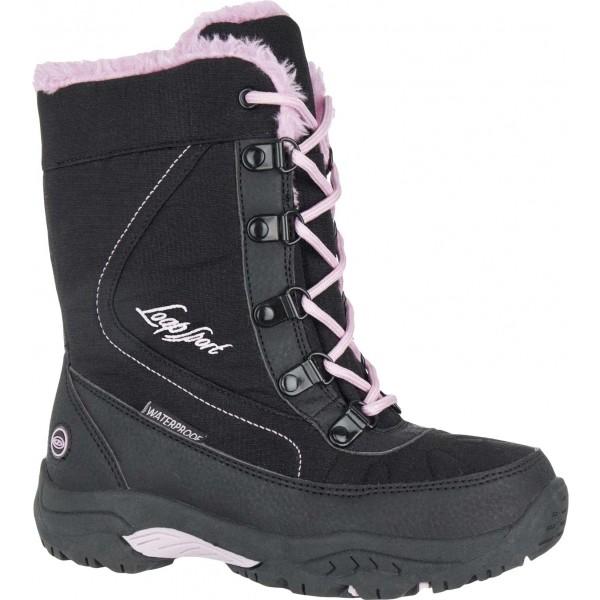 Loap ICE KID rózsaszín 33 - Gyerek téli cipő