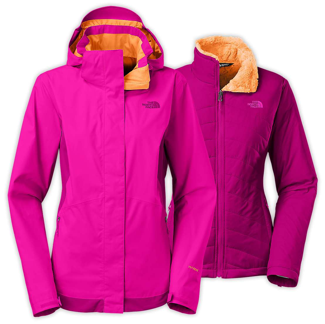 1ba58c4c11c4 The North Face W MOSSBUD SWIRL TRICLIMATE JACKET